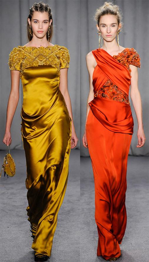 Красивые платья осень-зима 2014-2015