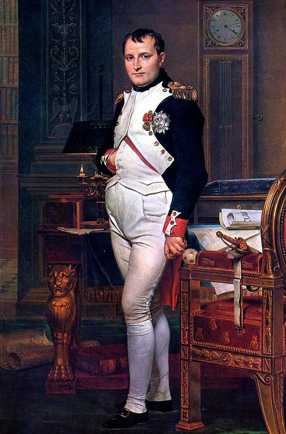 Прически в стиле ампир Император Наполеон