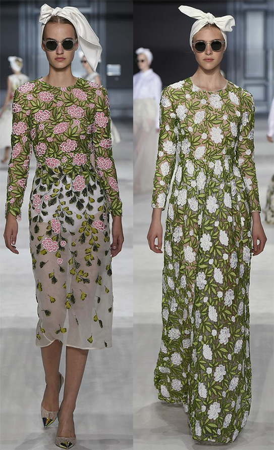 Новые платья из коллекций осень-зима 2014-2015