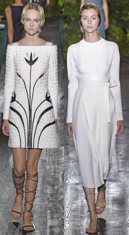 Valentino новые платья 2014-2015