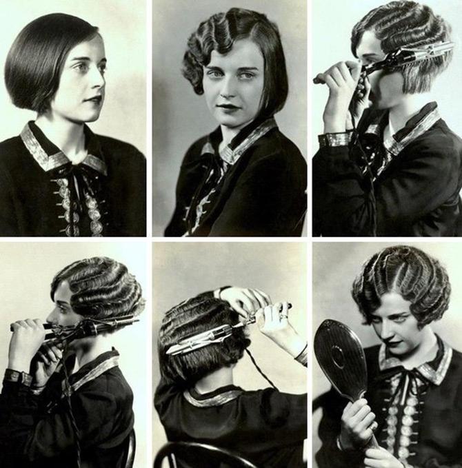 Завивка волос – 20-е годы
