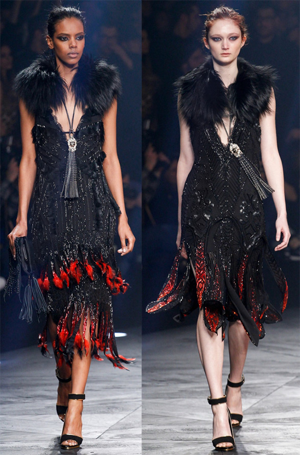 Платья Roberto Cavalli осень-зима 2014-2015