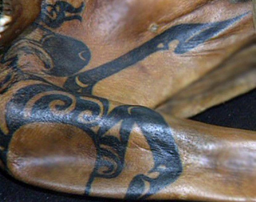 Алтайская Принцесса и ее татуировка