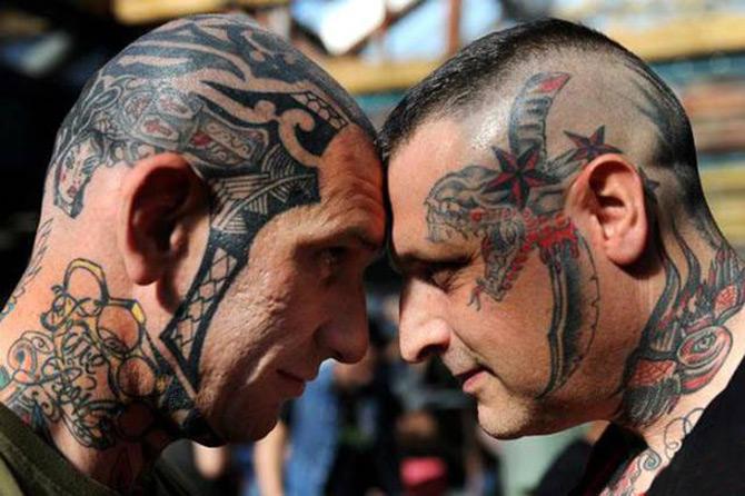 Современные татуировки