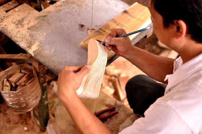 Изготовление платформы для обуви