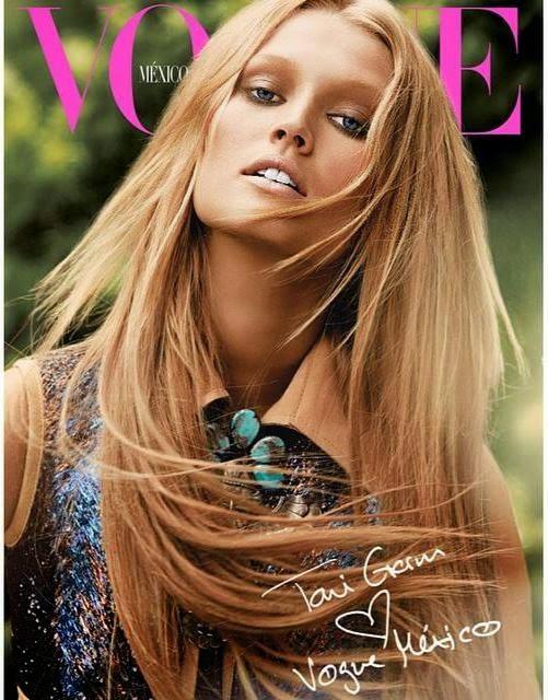 Фотосессия Тони Гаррн для Vogue Mexico