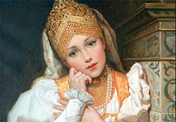 Русские принцессы – картины