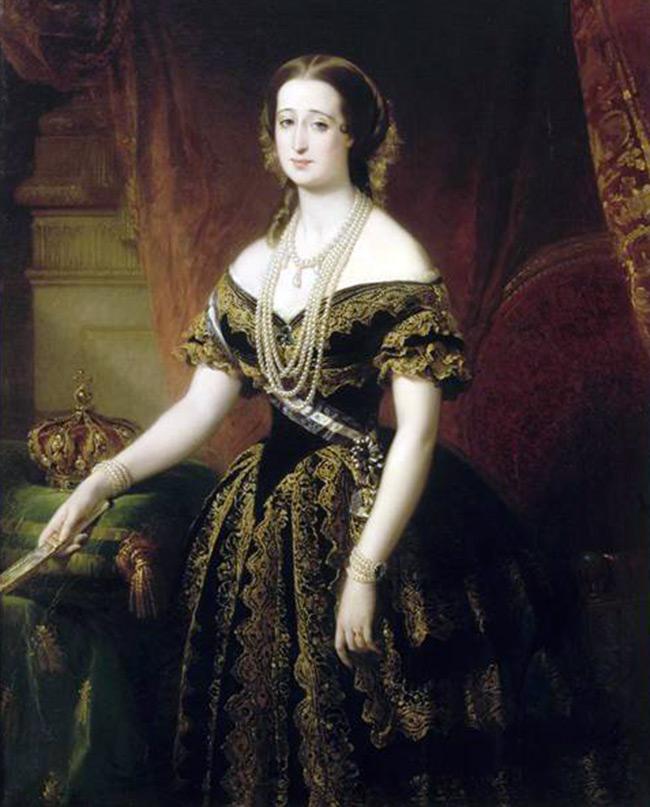 Императрица Евгения и ее стиль – картина