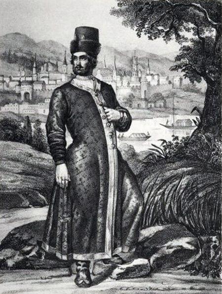Русская одежда с XIV до XVIII столетия