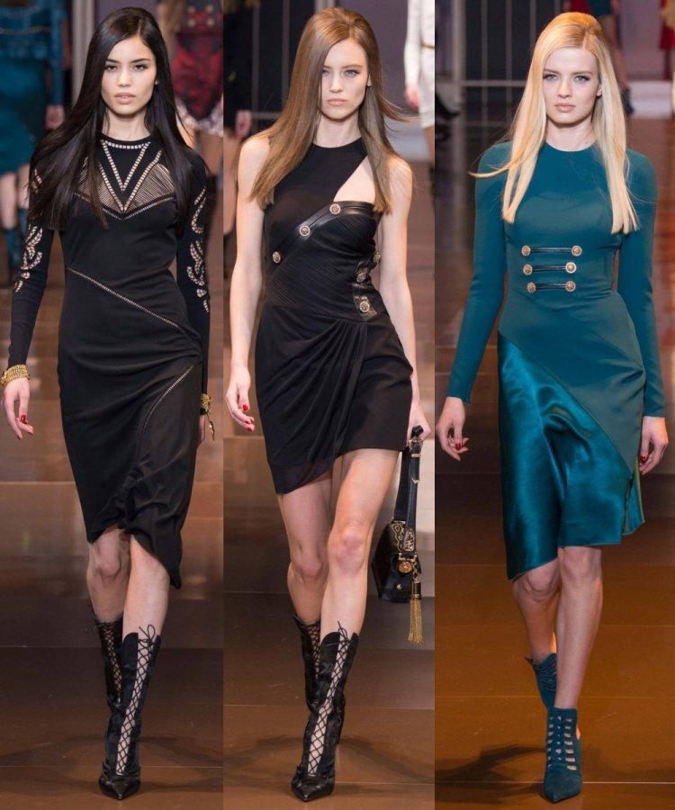 Красивые платья Versace