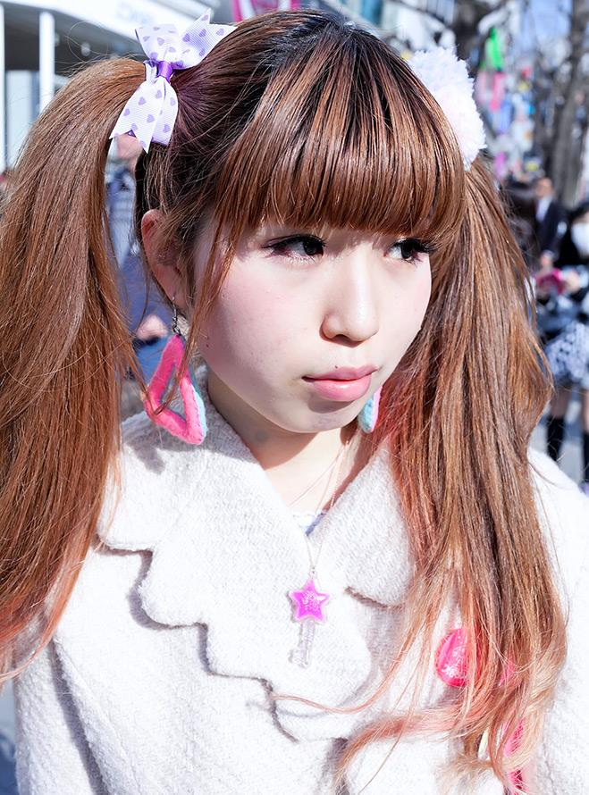 Японская девушка – прическа