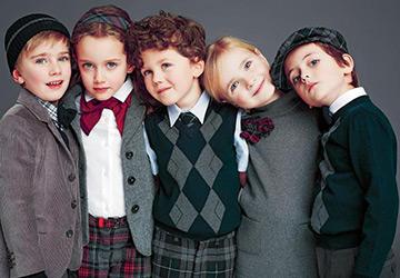 Детская коллекция Dolce & Gabbana осень-зима 14-15