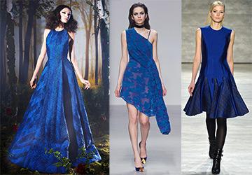 Синие платья 2014-2015
