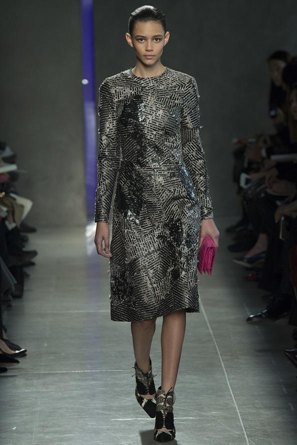 Закрытое платье от Bottega Veneta