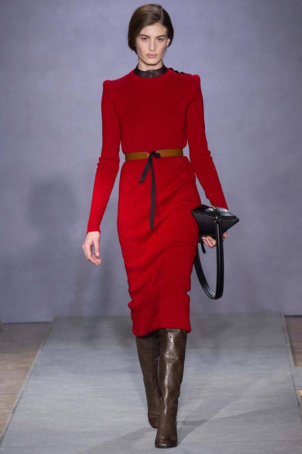 Зимние платье модные