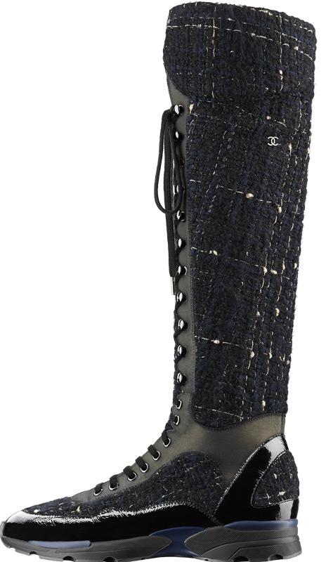 Коллекция кроссовок Chanel