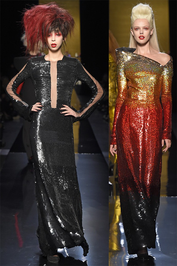 Красивые платья Jean Paul Gaultier