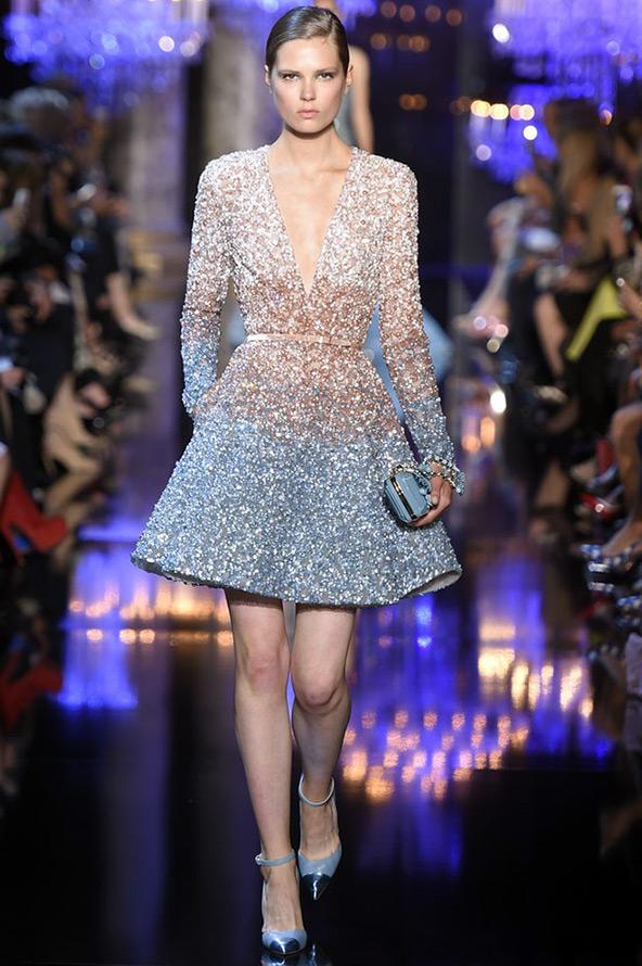 Блестящее платье Elie Saab
