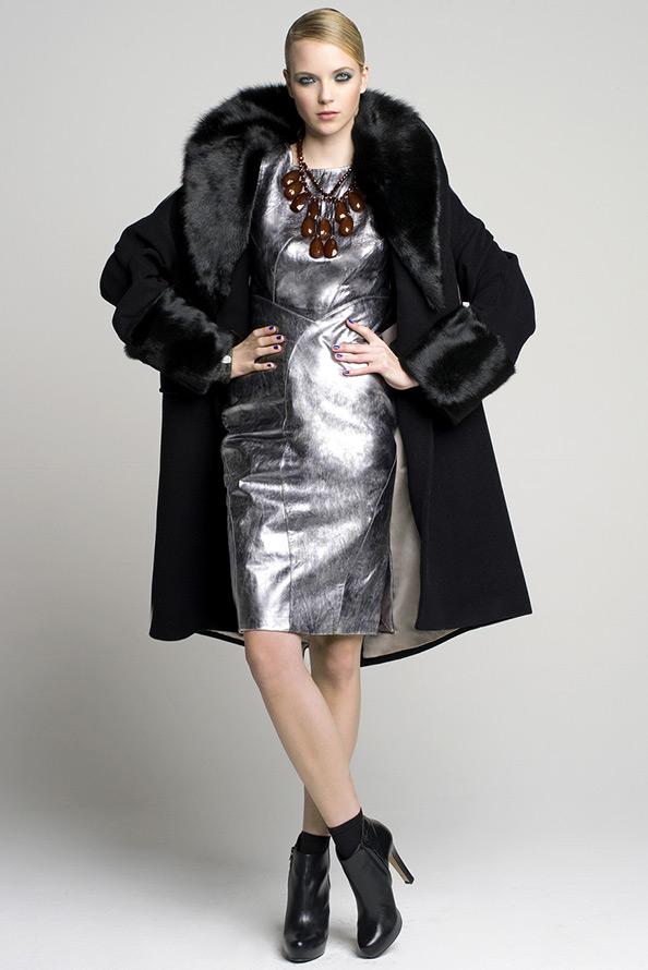 Блестящее платье Luciano Soprani