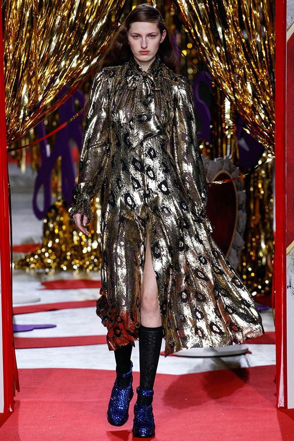 Блестящее платье Meadham Kirchhoff
