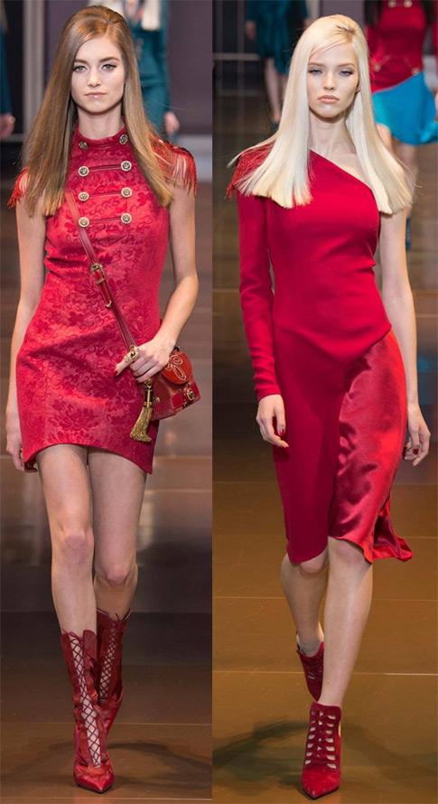 Versace осень и зима 2014-2015
