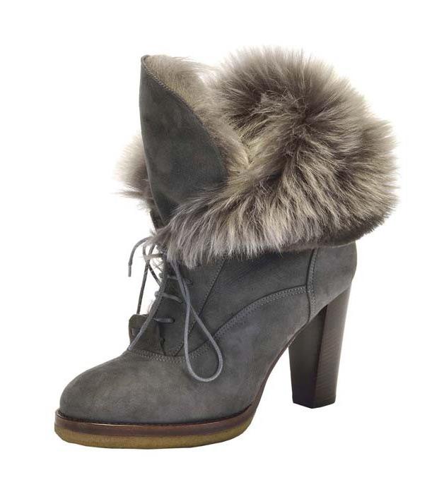 Меховая обувь 2014-2015