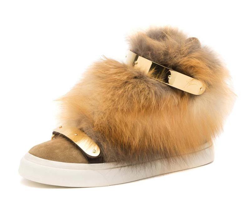 Меховая обувь осень-зима