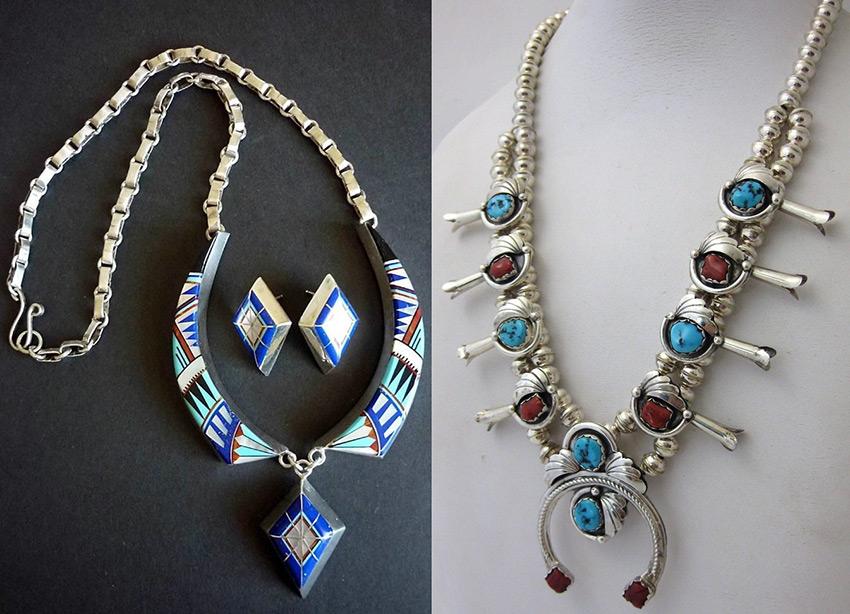 Винтажные серебряные украшения