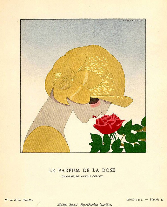Иллюстрация в стиле Арт Деко – Андре Эдуард Марти