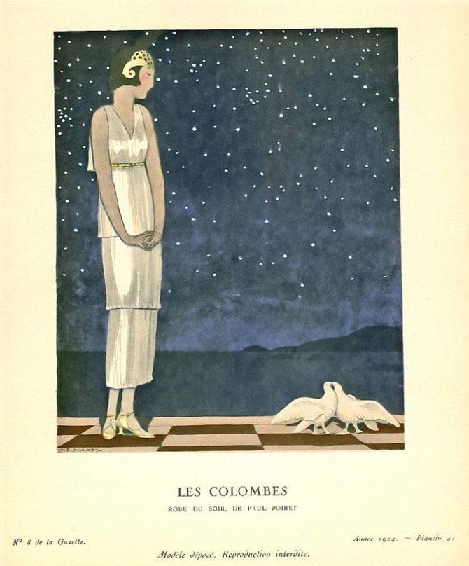 Иллюстрация – художник Андре Эдуард Марти