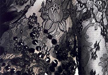 Кружевные платья осень-зима