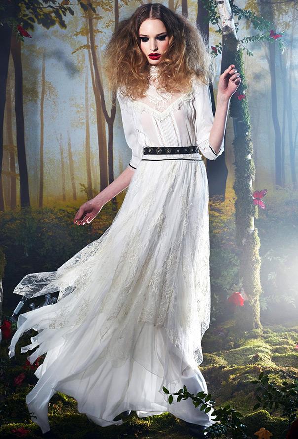 Alice Olivia кружевное платье