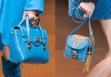 Синие и голубые сумки 14-15