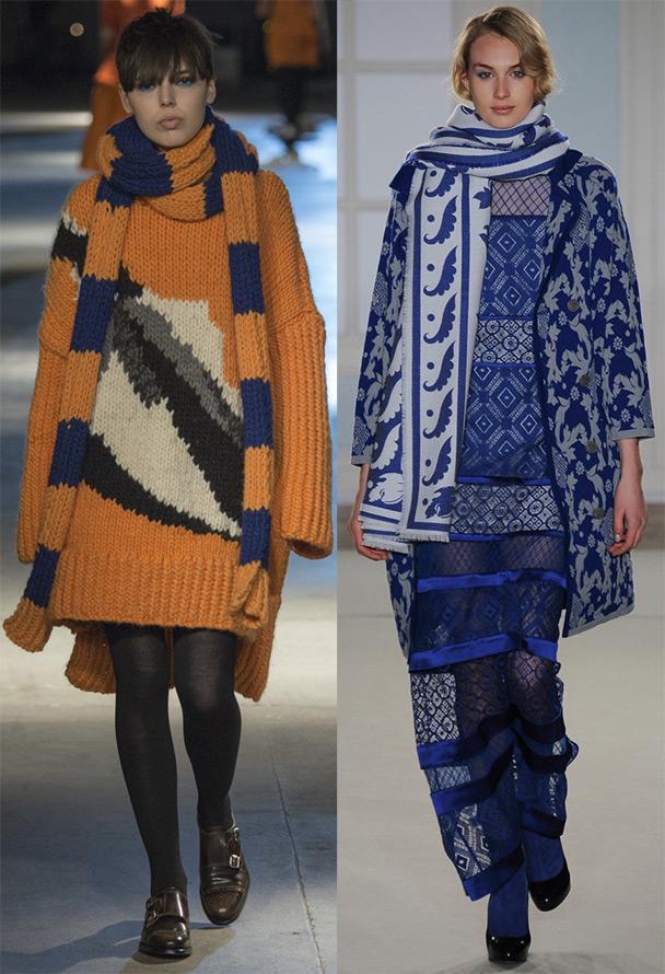 шарфы Giles и Temperley London