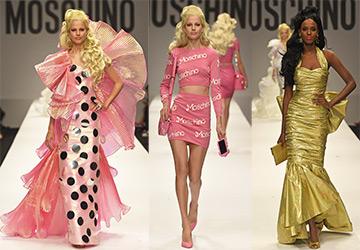 Moschino и Барби весна-лето 2015