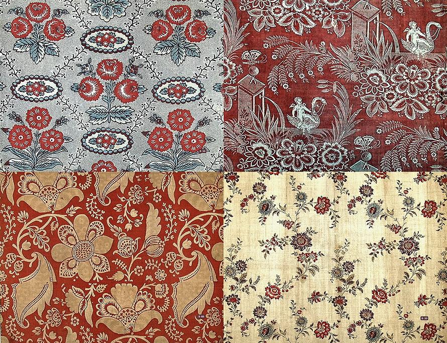 Старинные ткани – ситец