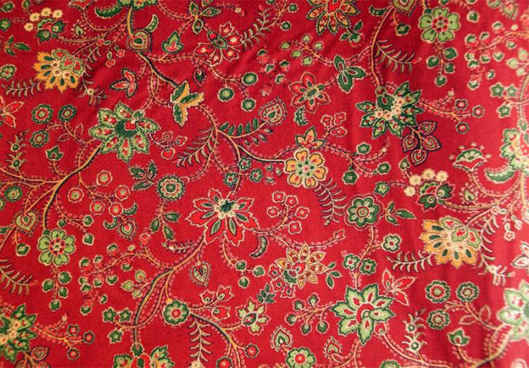 Винтажная ткань ситец