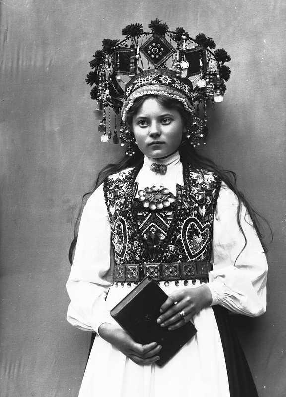 Норвежская девушка, фото