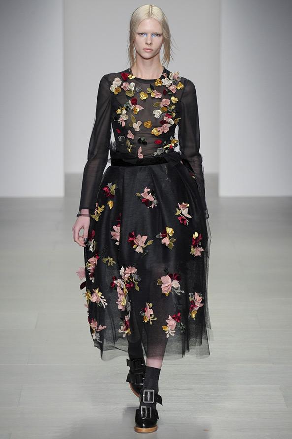 John Rocha платье с цветами