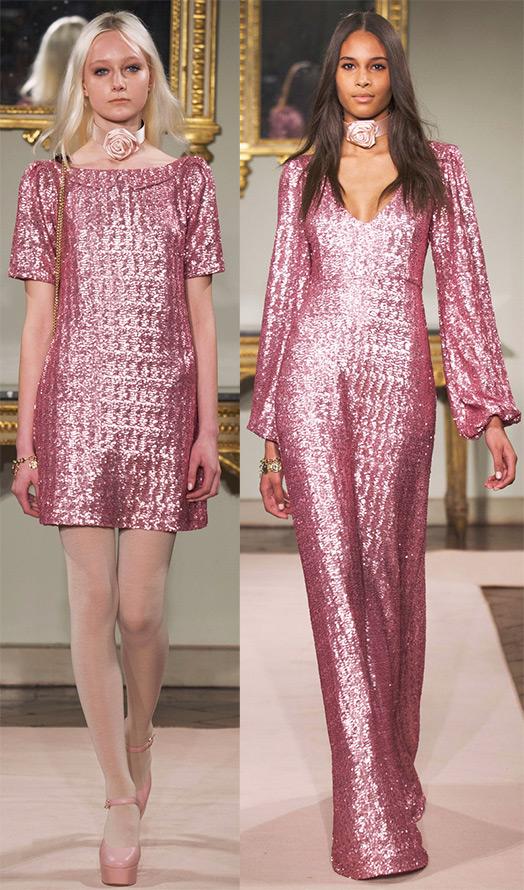 Розовые платья 2014-2015