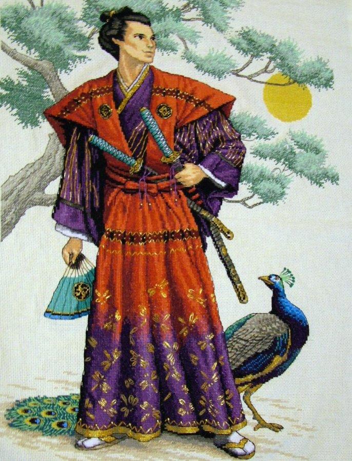 Прическа самурая