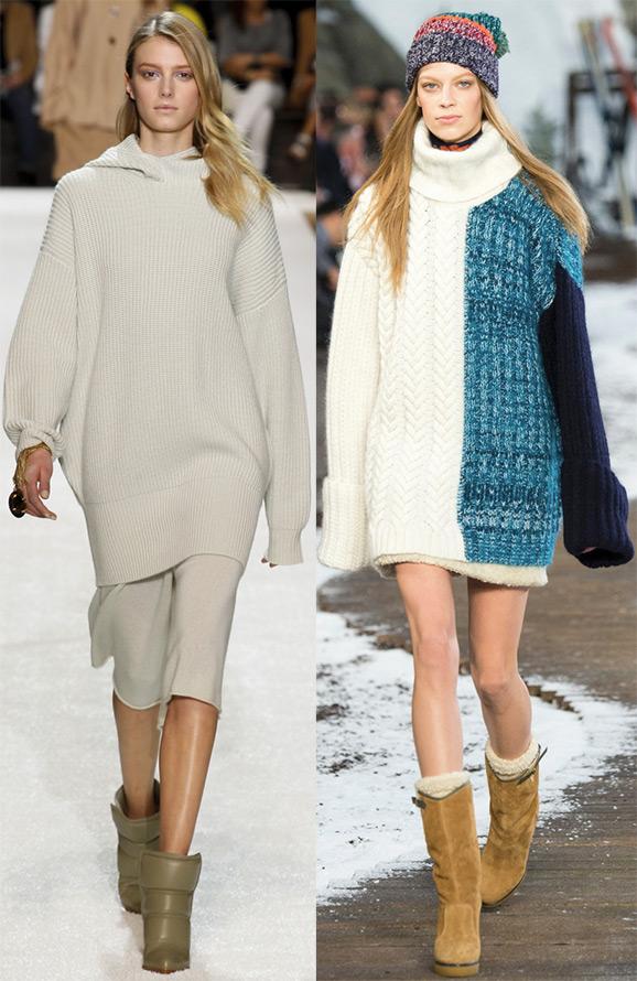 Теплая мода 2014-2015