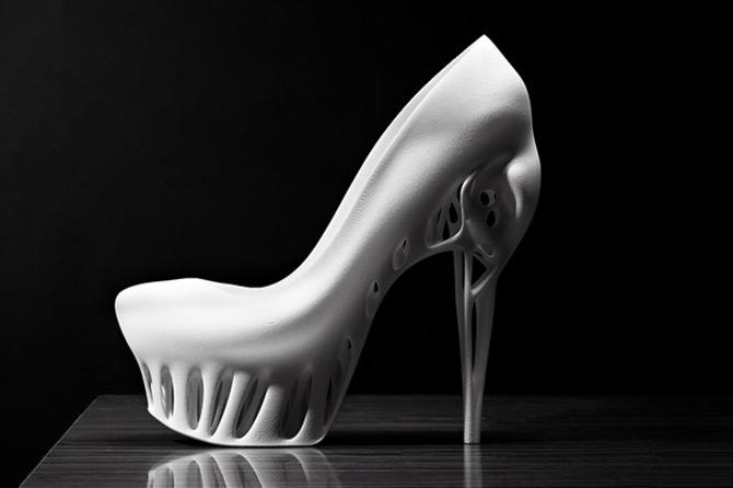 Туфли из 3D принтера