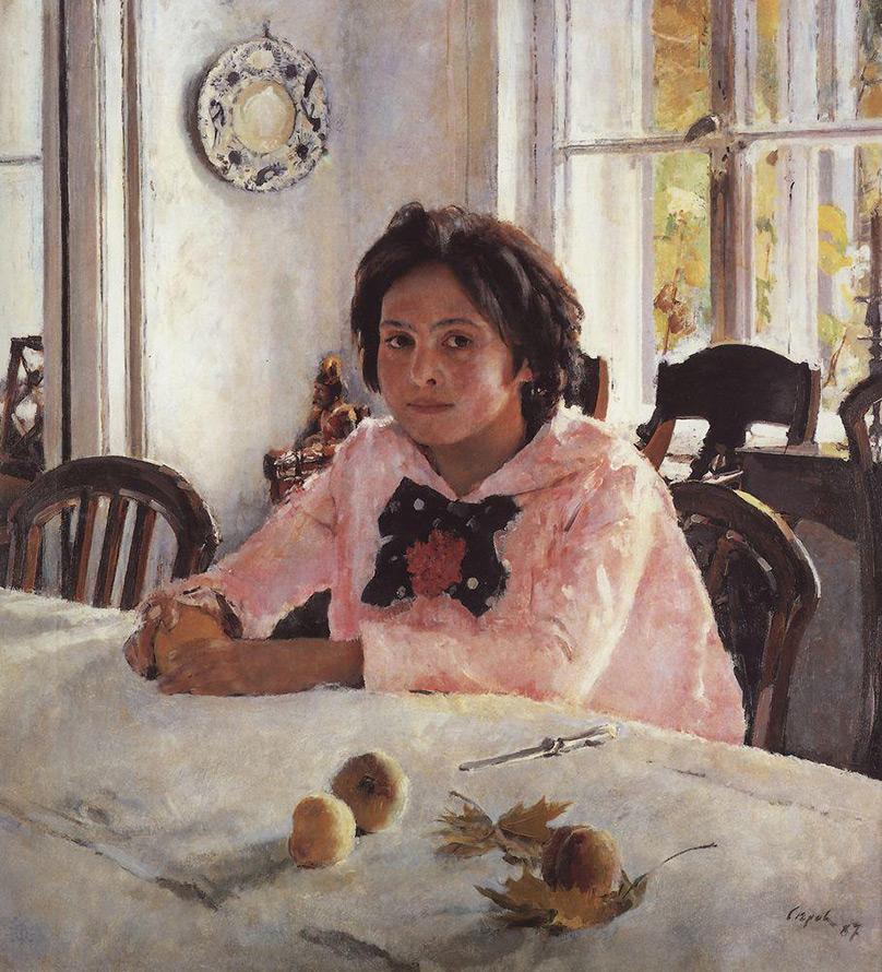 Валентин Серов Девочка с персиками