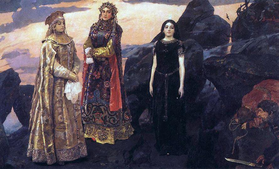 картина художника Васнецова