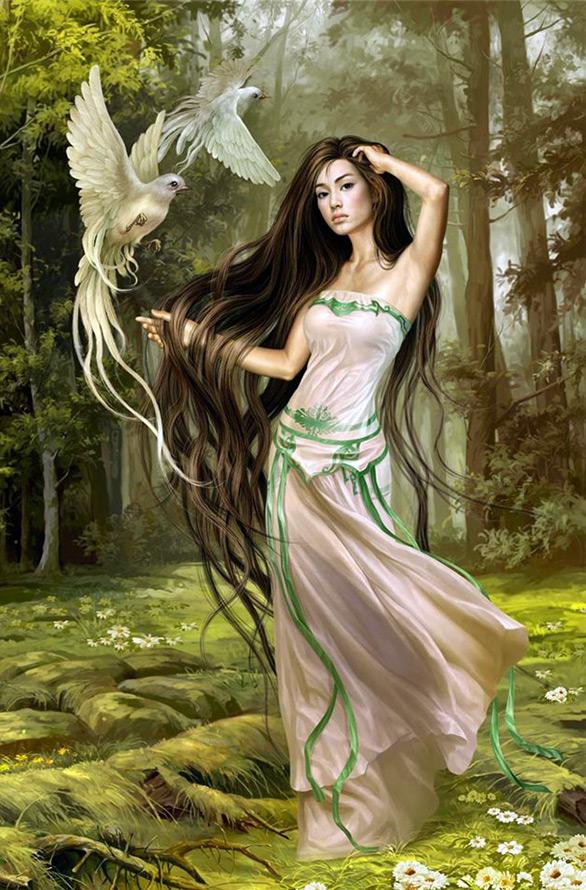 красивые нимфы фото