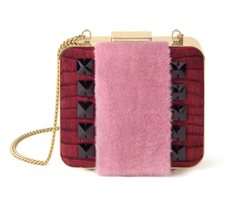 Меховая сумочка, фото