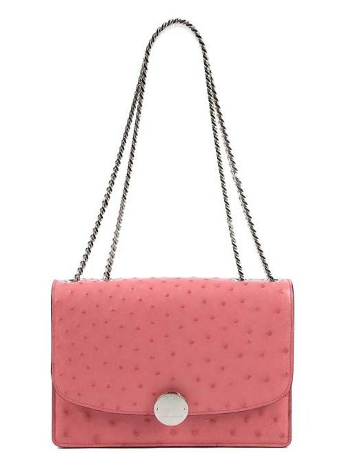 Розовые и коралловые сумки