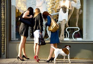 Магазины и покупки в кризис