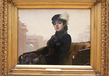 Художник Крамской и картина «Неизвестная»